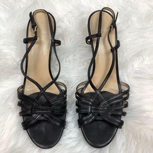 Cole Haan Nike Air Black Heels 9.5